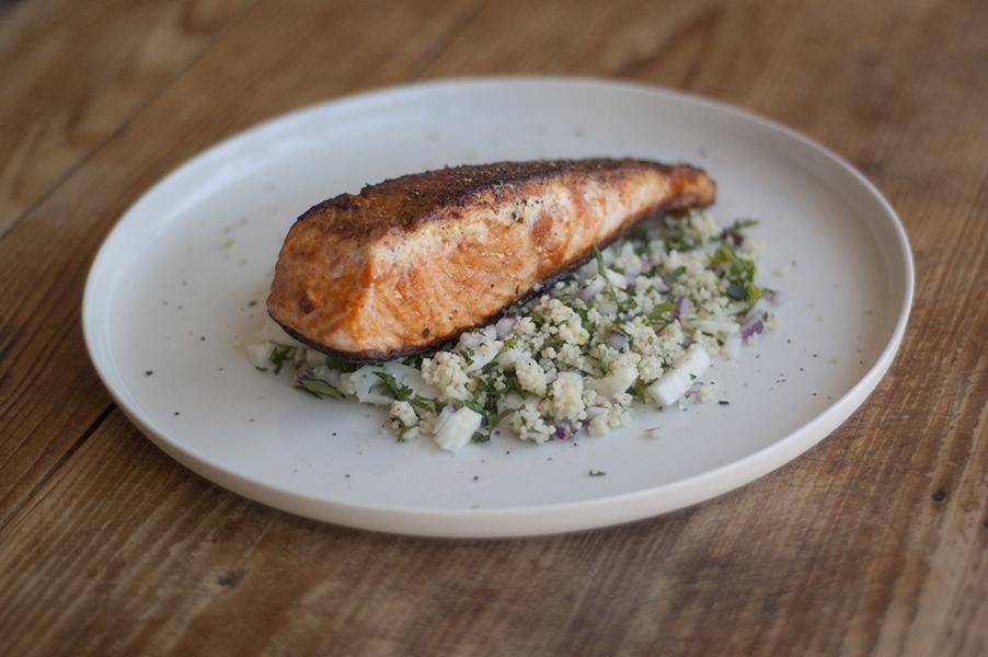Salmon with Moroccan couscous | HelloFresh Blog