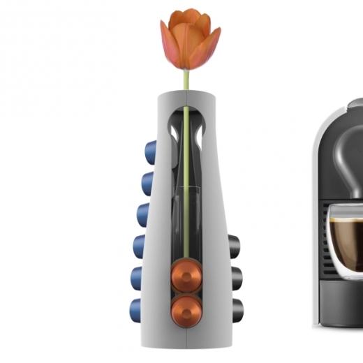 capsule flower holder