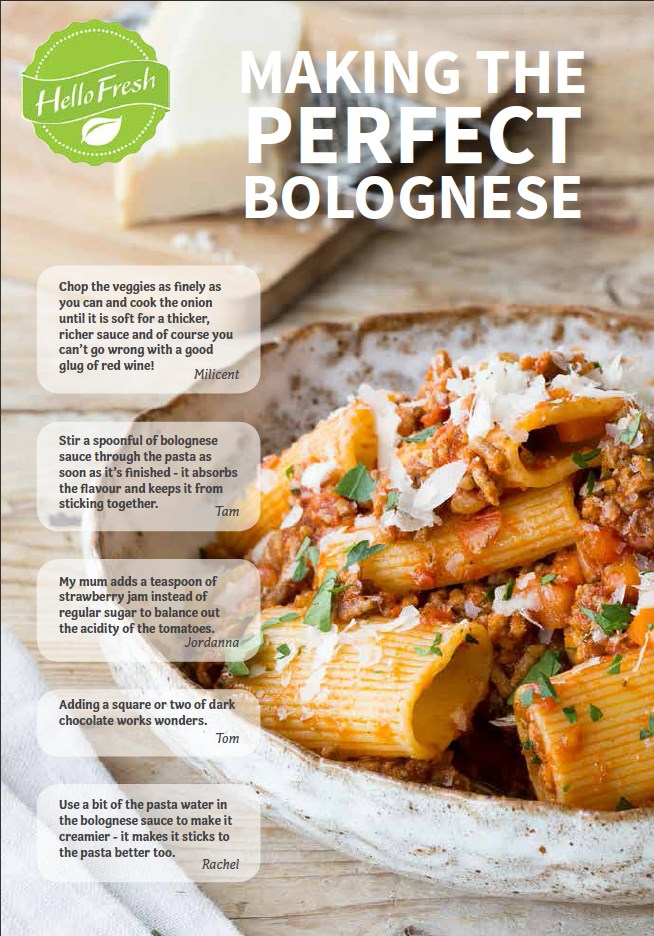 bolognese tips blog