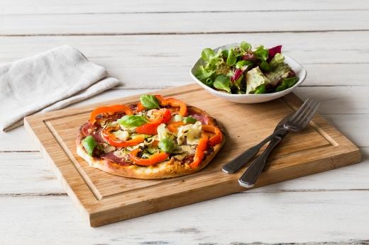 The Love Supreme Salami Pizza ›› http://bit.ly/1K5KfyS