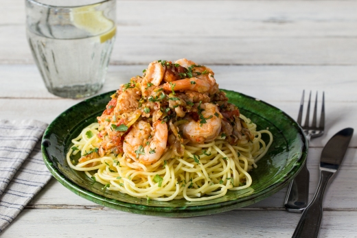 Fishermen's Wharf Spaghetti Marinara ›› http://bit.ly/1eCqyn3